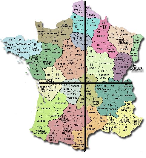 le sud ouest de la france