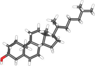 molécule de cholestérol