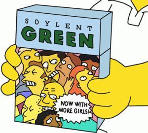 soleil vert simpsons