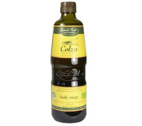 huile de colza bio et non raffinée