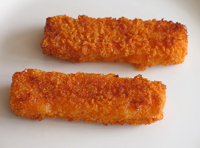 Des poissons panés, merci wikipedia ®