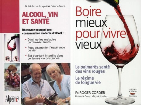 Deux ouvrages pour vous convaincre de la consommation raisonnée de vin